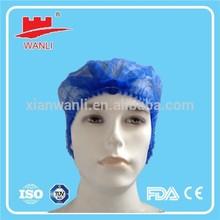 """New Color Dark Blue Mob Cap 19"""" Double Elastic Head Cap"""