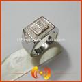 أعلى بيع صور البلاتين مطلي خاتم أنيق للرجال