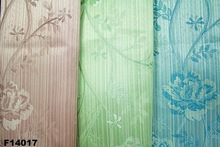 blossomy flower jacquard curtain fabric home textile fabric