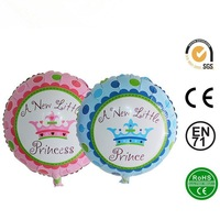 """[HOT] 18"""" Round Baby Carriage Foil Balloon&Party Decoration Helium Balloon"""
