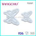forma de borboleta bolo fondant ferramenta de decoração tc2327 sugarcraft impressão gravação do molde