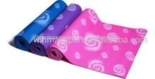 No MOQ WINMAX Eco-friendly printed PVC yoga mat