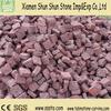 Salable paving stone red granite paving stone cube stone