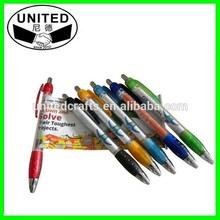 Promotional Logo cheap banner pens