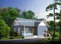 Casa pré-fabricada único andar com heavy carregamento capcity inclinação do telhado e da parede isolada