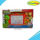 Multi-function Magnetic Painting Board Toys with Music and Light For Kids Drawing