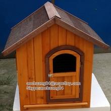 wooden fir large dog house pet ratten house