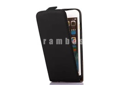 Up Down Vertical Case Cover Flip Mobile Phone Leather Case for iPhone 5C 3G 4 4S 5 5S 6