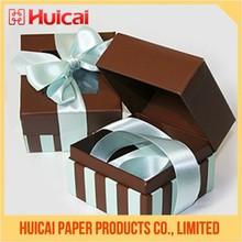 Handmade exquisite cardboard birthday gift box
