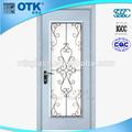 nuevo 2014 lowes diseño de hierro forjado de entrada exterior con puerta de vidrio