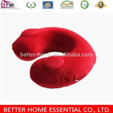 U shape Memory Foam adult car seat neck pillow