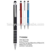 Aluminum stylus pen TY05004,ballpoint pen,promotion pen