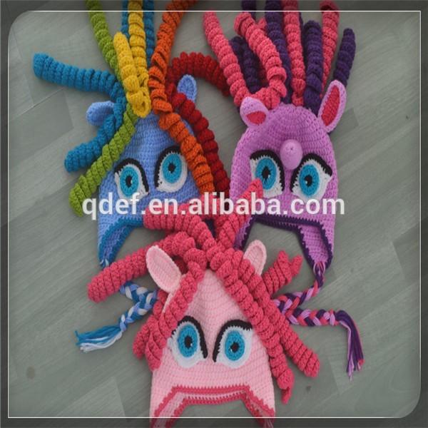 Crochet Pony Hat Pattern Kids Pony Hat Pattern