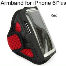 Mesh Design Mix Color Running Sports Armband for iPhone 6 Plus