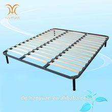Wooden Bed Slats Bed Frame System Only