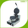 De haute qualité en acier inoxydable gaufrier machine pour collation. uwbx- 1