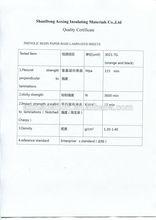 bakelite Phenolic paper laminated sheet 3021-TGA