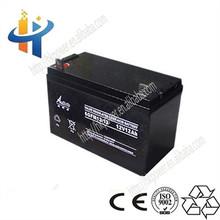 China Battery Manufacturer ups 12v battery 12ah