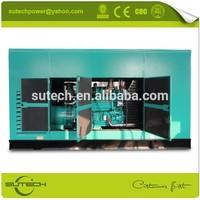 Continuous power 625Kva Cummins silent genset, powered by Cummins KTAA19-G6A engine