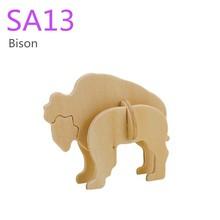 Robotime 3D mini puzzle toy - Bison