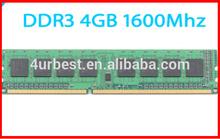 Low density ETT-chips 1600mhz 8chips 240PIN desktop 4gb ddr3 ram