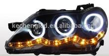Toyota Headlight modified LED head light assembly angel eye head lamp for Toyota Reiz headlight assembly 100% waterproof