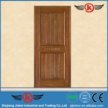 JK-M213 Jie Kai prefinished interior wood doors / villa wood door / Hand make beautiful natural pine wood door