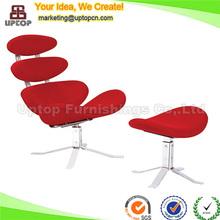 Diseño maestro clásico muebles Corona silla con otomano ( SP-HC368 )