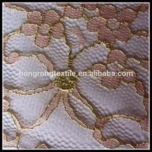 hot sale golden lace Jacquard wool fabric