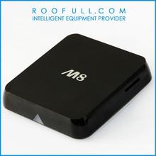 Roofull Amlogic! Google Tv Box Android Mini Pc Quad Core Amlogic 2.0ghz M8 Android 4.2 Xbmc Skype Wifi 4K Android Tv Box