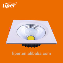 30000 hours life time 3 years warranty cob led downlight