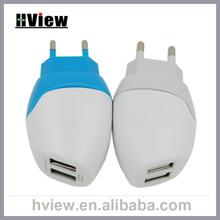 Wholesale US UK EU Plug Travel Cell Phone USB Charger Plug for Iphone Samsung