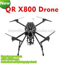 nuovo prodotto professionale QR x800 fpv fotografia aerea professionale 2 km radiocomando gamma drone hexacopter quadcopter kit