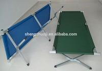 aluminium folding camping bed, camping cot