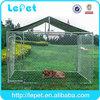 2014 hot selling galvanize tube animal cage dog training crates
