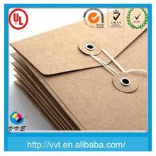 Gold kraft envelopes