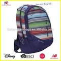 venta caliente llanura bolsas bolsas de colegio para las niñas de la escuela mochila