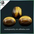wuzhou natural ojo de tigre oval cabochon piedras preciosas sueltas natural semi cabujones piedras preciosas