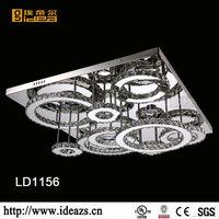 LD1156-5 lava style iron samurai red light metal led watch Made In Zhongshan