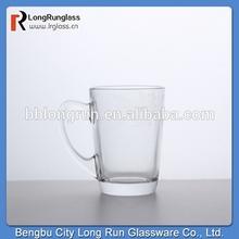 LongRun 5oz delicate small glass coffee mug wholesale pitcher