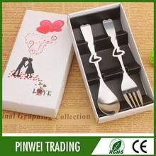 high quality bulk promotional korean fork and spoon set