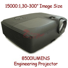 DLP conference room projector 10000 lumens with 1080P HD videos supported/5 seconds to start up for Concert Projector