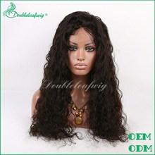 natural looking human hair grey lace front wig