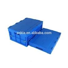Plastic folding type tools storage case