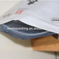 aluminum foil ziplock bags/aluminum zipper bags