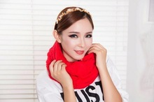 New designs hand knitted scarf winter unisex knitted scarf cashmere scarf