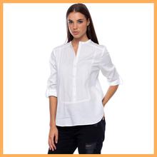 high neck design of blouse