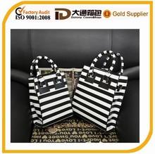 yiwu wholesale PU zebra print shopping bag