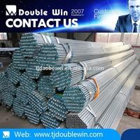 Alibaba Global Trade Q235 SS400 Threaded Galvanized Pipe 3 inch British Standard Pipe Thread