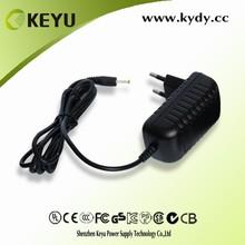 EU pins dc 12v 1000ma adsl modem power supply